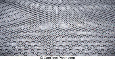 grijze , cobblestones