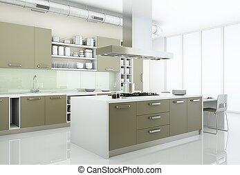 Grijze Moderne Keuken : Moderne grijze keuken meubel meubel moderne grijze keuken