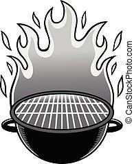 grill, ábra