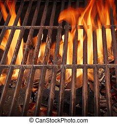 grill, égető, elbocsát, xxxl, csípős, kerti-parti