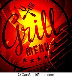 grill, barbecue