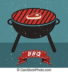Grill BBQ Cookout Vector