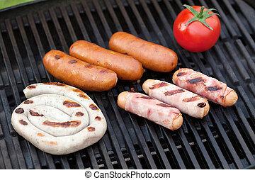 grill, bbq partij