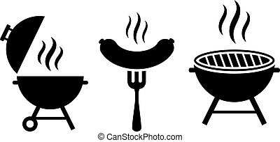 Grill bbq vector icon