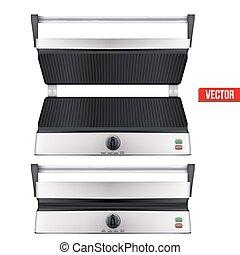grill, eredeti, elektromos
