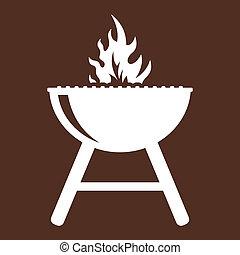 grill, grillsütő