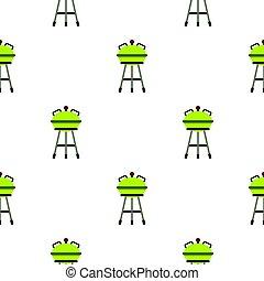 grill, grillsütő, lakás, motívum
