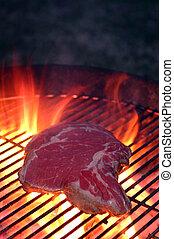 grill, hússzelet