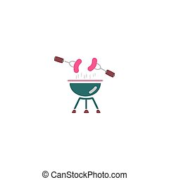 Grill Icon Vector