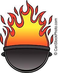 grill, ikon