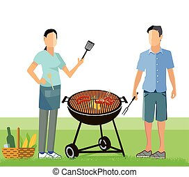 Grill Party - Barbecue party and picnic