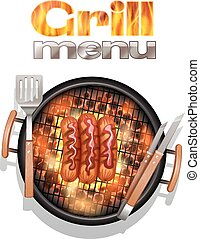 grill, tervezés, étrend