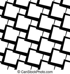 grillage, abstratos, grade, malha, seamless, lattice, experiência., pattern.