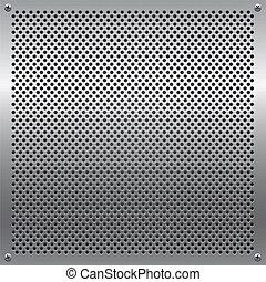 grille métal