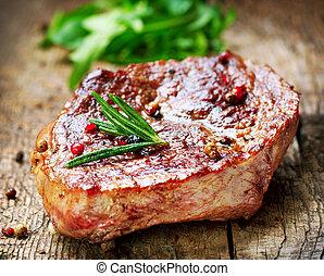 grilled, biefstuk
