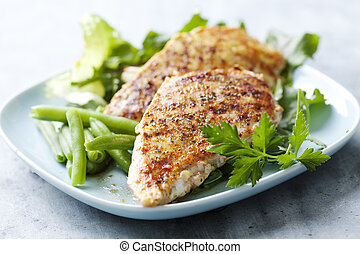 chicken breast fillet - grilled chicken breast fillet