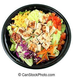 Grilled Chicken Salad To Go