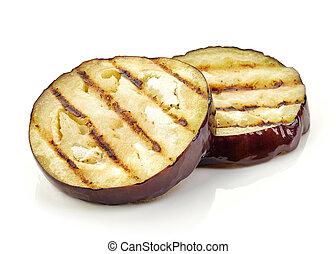grilled eggplant slices