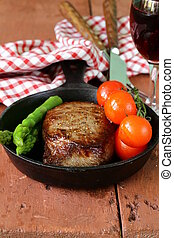 grilled meat beef steak
