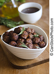 Pork Meatballs - Grilled Pork Meatballs With Rosemary And ...