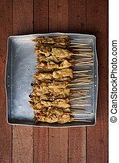 grilled Pork Satay