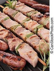 grilled skewer