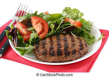 grilled turkey hamburger