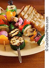 grillere grønsager