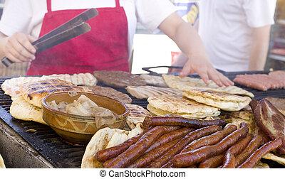 grillfest, balkanisch
