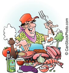 grillmaster, 邀請