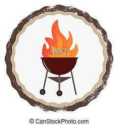 grillsütő, címke