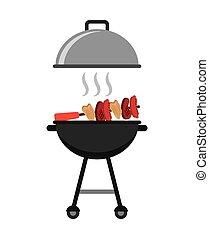 grillsütő, finom