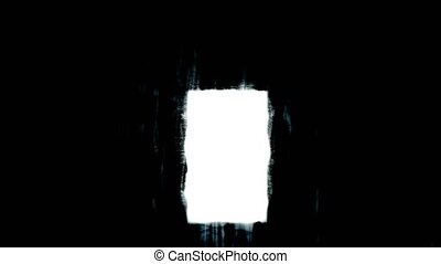 Grim door. Mystic door. Light in the dark. - Grim door....