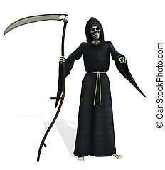 Grim Reaper - 3D render