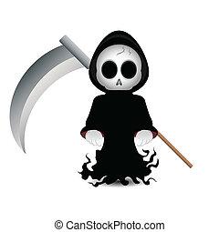 grim reaper clip art - Cute grim reaper clip-art for...