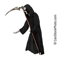 Grim Reaper - Isolated Grim Reaper. Halloween theme