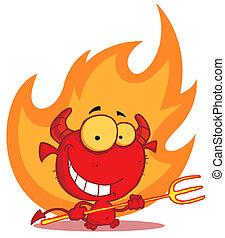 grimacer, devily