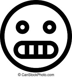 grimacer, emoji