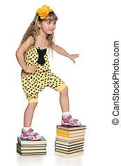 grimper, les, escalier, de, education