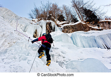 grimpeur, glace
