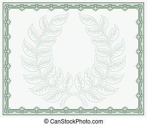 grinalda loureiro, certificado, fundo
