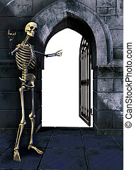 grind, skelett
