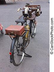 grinder's, fiets, mes