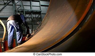 grinding tube