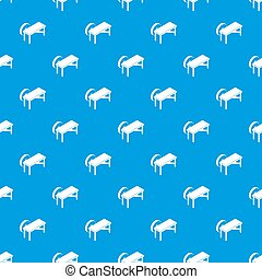 Grindstone pattern seamless blue repeat for any use
