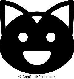 grinning cat
