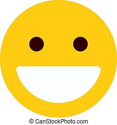 grinning emoji