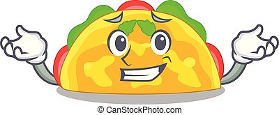 Grinning omelatte is fried on character teflon - Grinning ...