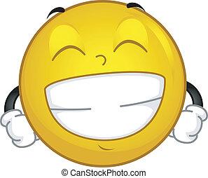 grinsen, smiley