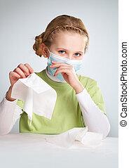 grippe, épidémie